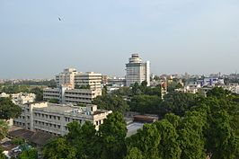 View of Patna city from the top of Golghar.jpg