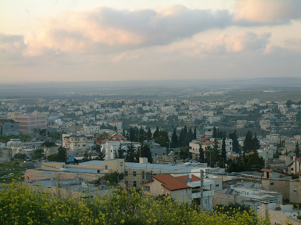 View of Shefa Amr