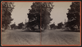 View of a street in Southington (with a church in background), by Hazard, E. W. (Emerson W.).png