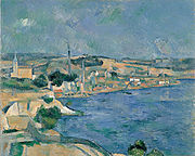 View of the Bay of Marseille from the Village of Saint-Henri by Cezanne (Yamagata Museum of Art) .jpg