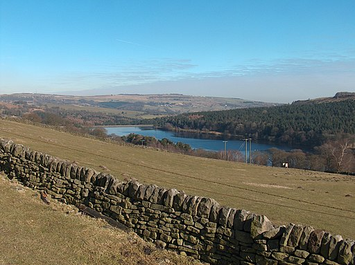 View towards Dale Dyke Reservoir from the south west. - geograph.org.uk - 1743851
