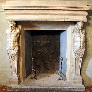 Villa di Poggio a Caiano - The Buontalenti fireplace