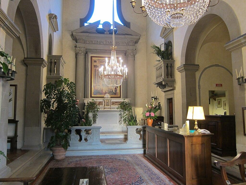 file villa san michele fiesole wikipedia. Black Bedroom Furniture Sets. Home Design Ideas