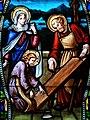 Villeréal - Église Notre-Dame - Vitrail de la vie de Joseph -4.jpg