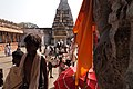 Virupaksha Temple, Hampi, India, Grand Hindu religious procession in Virupaksha Shiva Temple.jpg