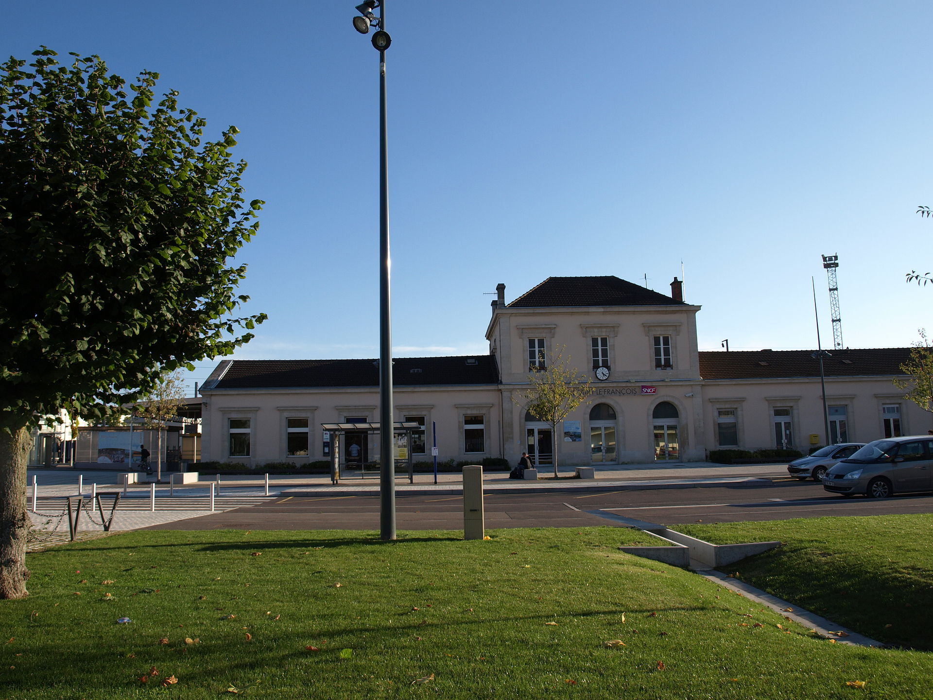 Gare de vitry le fran ois wikipedia for Garage vitry le francois