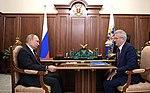 Vladimir Putin and Ivan Belozertsev (2019-04-22) 01.jpg