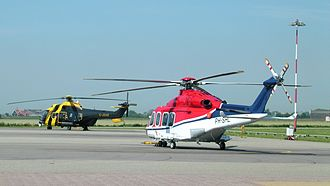 Bristow Helicopters - Bristow Helicopter (G-JSAR) at De Kooy Airfield. G-JSAR was a Search and Rescue helicopter.