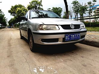 Volkswagen Gol - 2000 Volkswagen Gol (G3) in China
