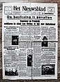 "Voorpagina Vlaams dagblad ""Het Nieuwsblad"" 4 September 1939.jpg"