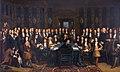 Vrede van Nijmegen - De ondertekening van de Vrede tussen Frankrijk en Spanje door Henri Gascard (1635-1701).jpg