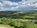 Vue Village depuis Terasse Ancien Château Abbatial Vézelay - Saint-Père (FR89) - 2021-05-17 - 2.jpg