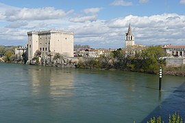 Tarascon Castle along the Rhône River