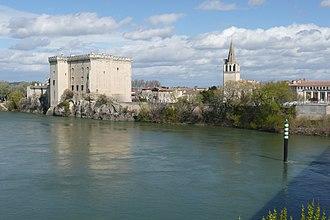 Tarascon - Tarascon Castle along the Rhône River