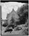 WEST SIDE OF LACE HOUSE, LOOKING EAST - The Lace House, 161 Main Street, Black Hawk, Gilpin County, CO HABS COLO,24-BHAWK,2-4.tif
