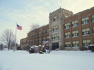 William Horlick High School Public high school in Racine, Wisconsin, United States