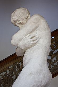 Єва що зазнає сорому статуя родена