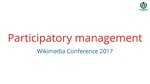 WMCON2017 - Boards training - Participatory management.pdf