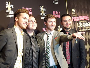 Walk the Moon - Image: Walk The Moon Poses For Cameras