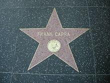 La stella di Frank Capra sulla Hollywood Walk of Fame
