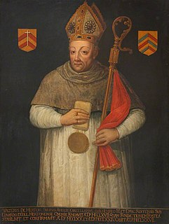 Walter de Merton 13th-century Bishop of Rochester and Chancellor of England