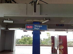 Wangsa Maju - Wangsa Maju LRT