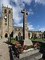 War memorial in the churchyard at Bedale.jpg