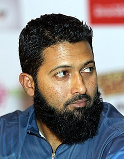 Wasim Jaffer Indian cricket player.
