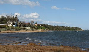 Beaumaris, Victoria - Watkins Bay viewed from Ricketts Point