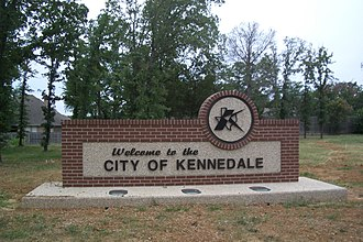 Kennedale, Texas - Image: Welcome 2kennedale