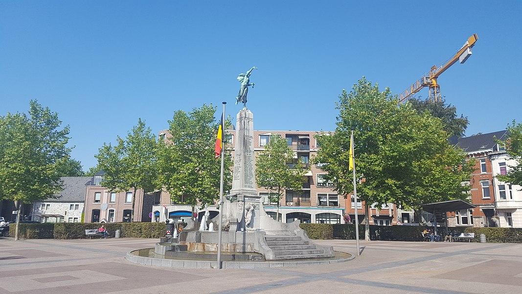 Place des combattants, Welkenraedt, Belgique