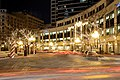 WellPoint, Inc., Monument Circle, Indianapolis at Night.jpg