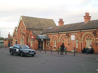 Wellingborough railway station Railway station in Northamptonshire, England