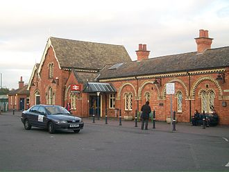 Wellingborough - Wellingborough station building