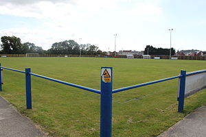 Wells City F.C. - Wells City F.C. ground, Rowdens Rd