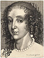 Wenceslas Hollar - Henrietta Maria, after van Dyck (State 1).jpg