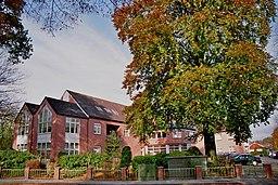Retirement and nursing home St.-Raphael-Stift in Werlte, Landkreis Emsland, Lower Saxony, Germany.