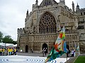 West Front of Exeter Cathedral in June - geograph.org.uk - 196741.jpg