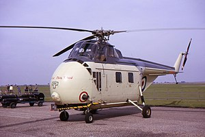 Westland Whirlwind (helicopter) - Whirlwind HAS.7 of the Empire Test Pilots' School
