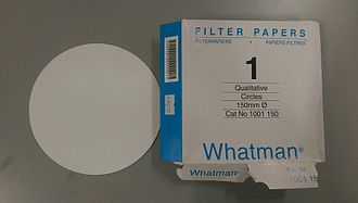 Filter paper - 150mm qualitative filter paper