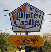 Description de l'image  White Castle Sign.JPG.