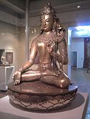 Statue of White Tara in the Zanabazar Museum of Fine Arts