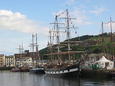 Ships at Whitehaven