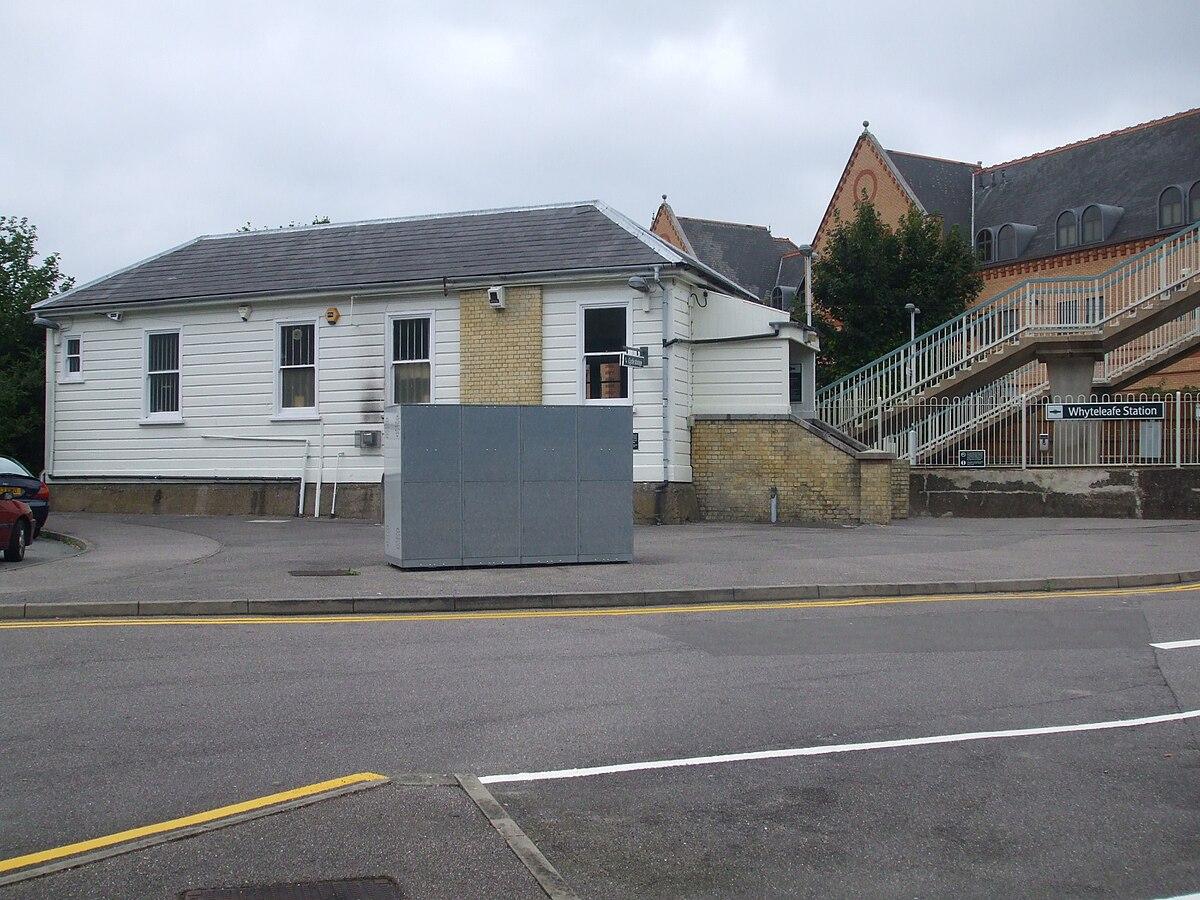 Px Whyteleafe Station Building