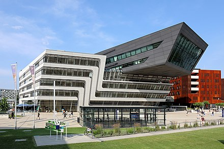 The Vienna University of Economics and Business Wien - WU Campus, LC.JPG