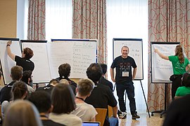Wikimedia Hackathon Vienna 2017-05-19 Mentoring Program Introduction 014.jpg