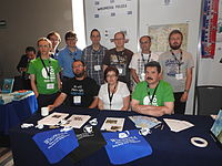 Wikimedia Polska at Wikimania 2015 by Maire 07.JPG