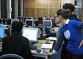 Wikimedia UK Black History Month help at editing.JPG
