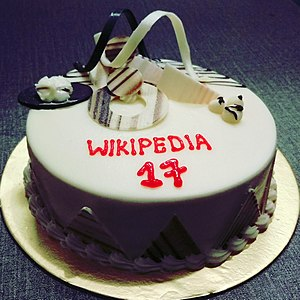 Wikipedia 17th Birthday Celebration by Wikimedia Bangladesh.jpg