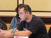 Wikipedians at Wikimania 2018 learning days 12.jpg